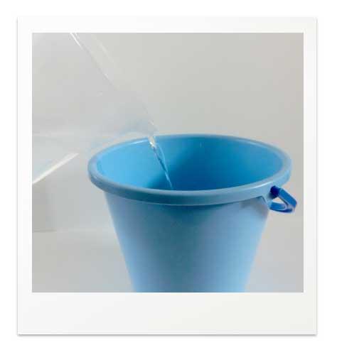 安全で簡単な塩水浴の手順