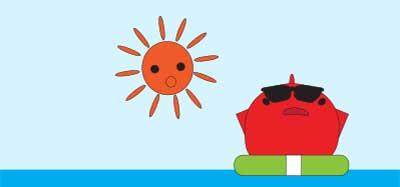 太陽光がどのくらい入る場所か?