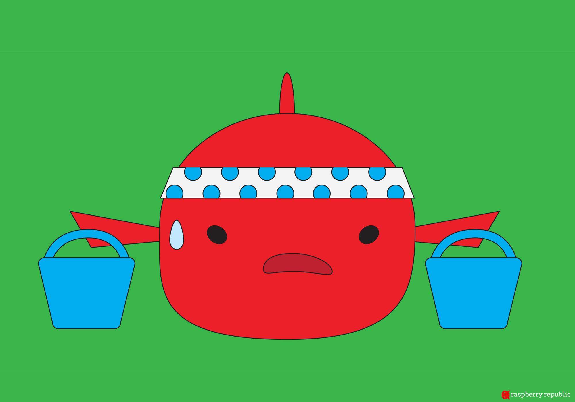 金魚の水替えの頻度