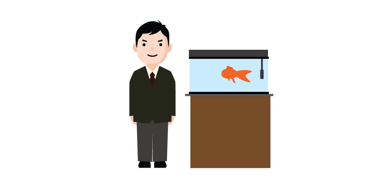 金魚を長生きさせる人達3